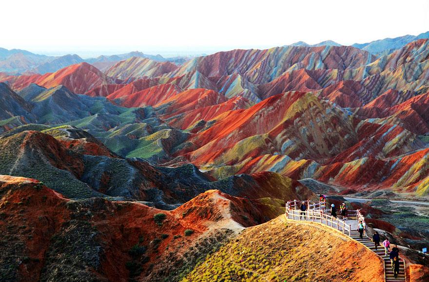 9-40 чудесных мест на Земле с удивительными инопланетными пейзажами