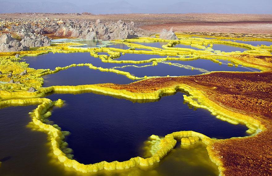 14-40 чудесных мест на Земле с удивительными инопланетными пейзажами