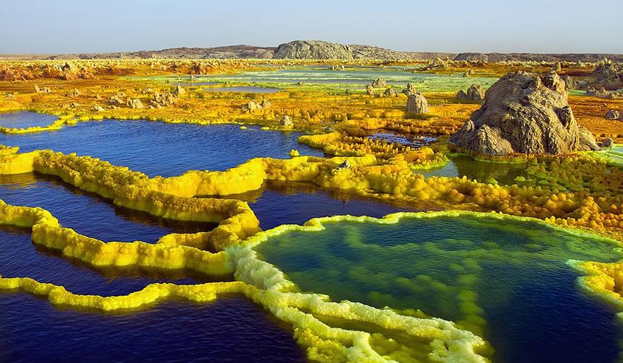 13-40 чудесных мест на Земле с удивительными инопланетными пейзажами