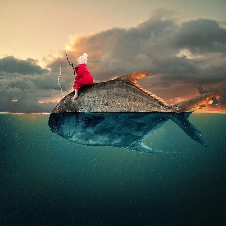 37 photographies retouchées qui vous plongeront dans un univers féerique