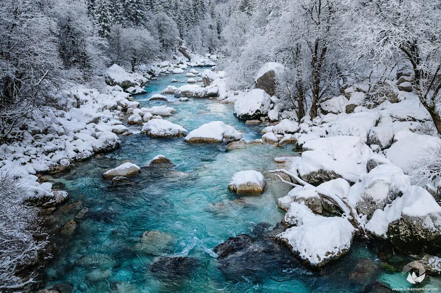 Река Соча Словения