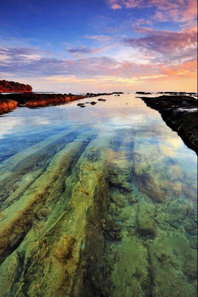 Пляж Бак Бак, Борнео