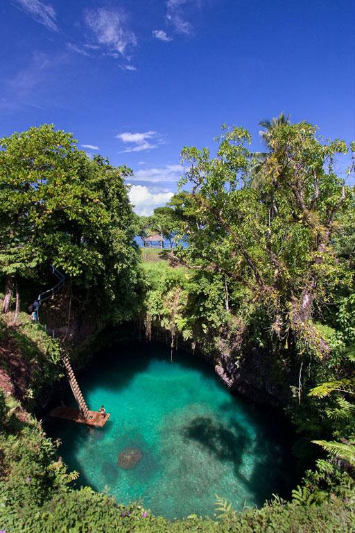 Природный бассейн То Суа, остров Уполу, Самоа