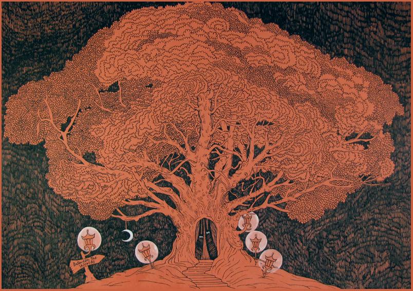 Сказочные рисунки художницы Yanadhyana