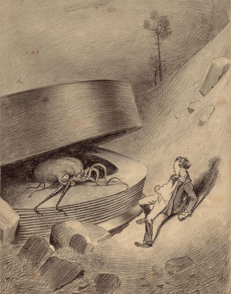 Картинки по запросу война миров книга иллюстрации