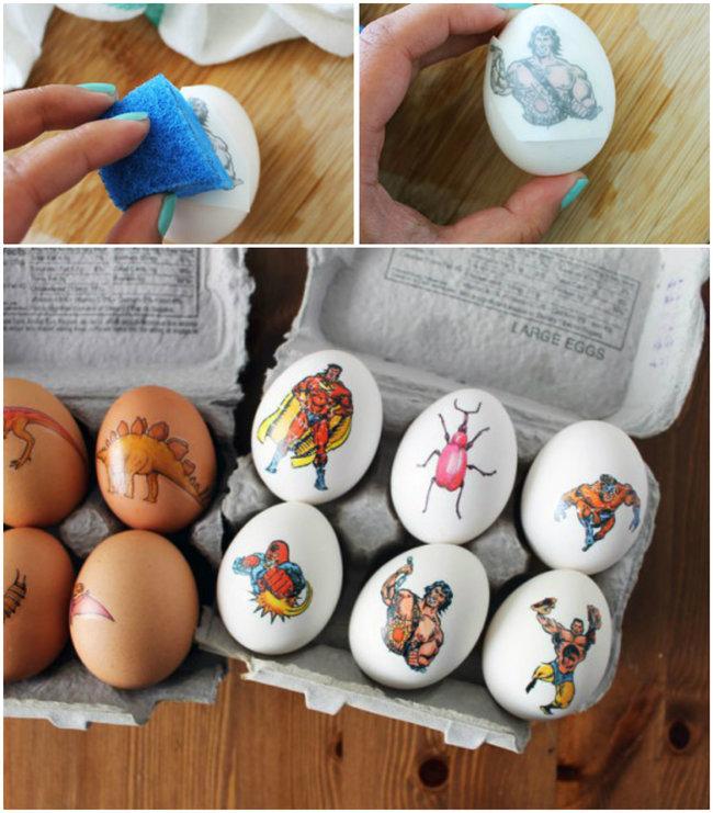 как украсить яйца на пасху чтобы было не как у всех 28 идей