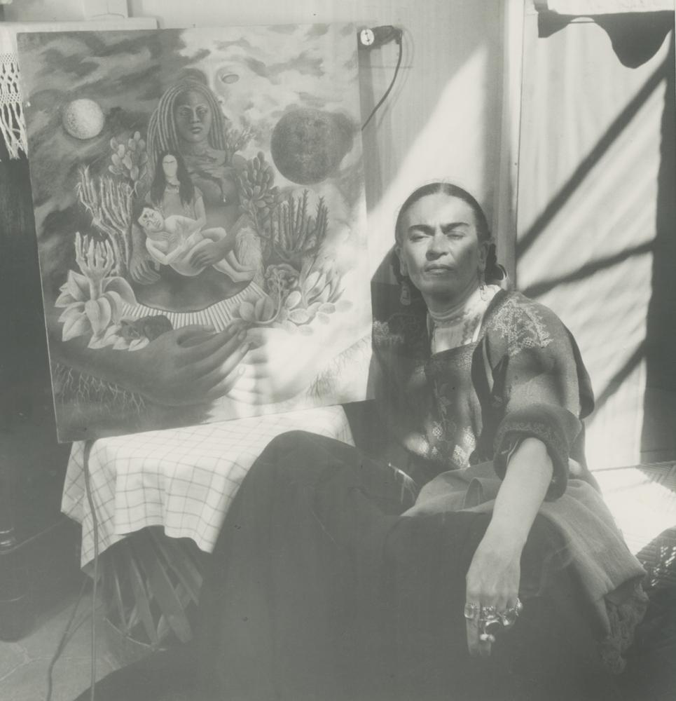 Ретро фотографии Фриды Кало - 10