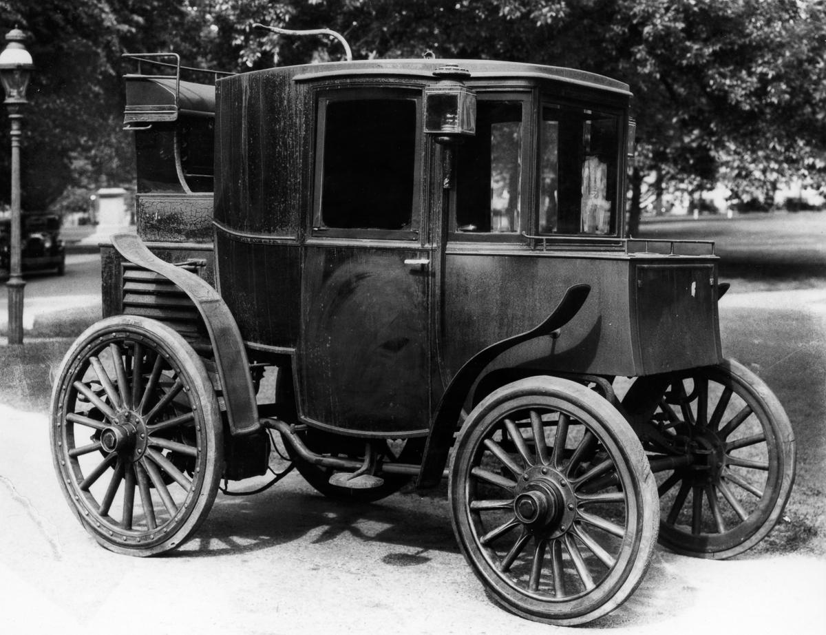 Pervye elektromobili retro foto 4