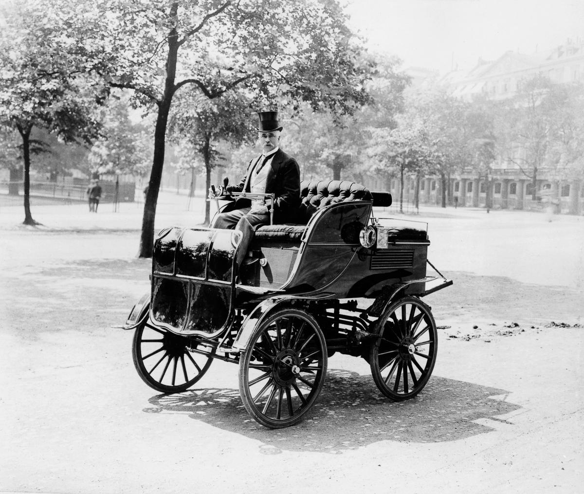 Pervye elektromobili retro foto 5
