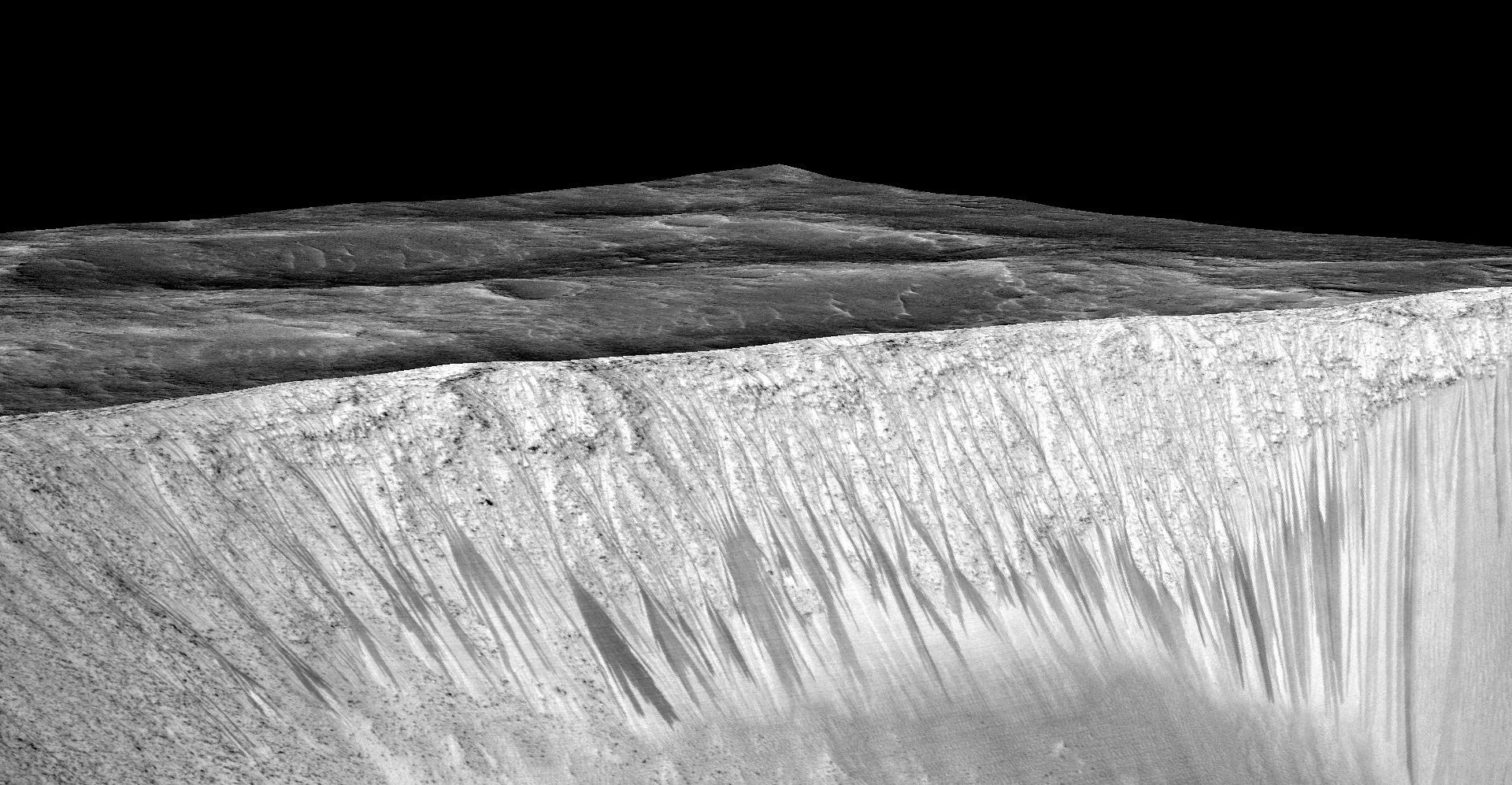 zhidkaya voda na Marse fotografii NASA 3 copy