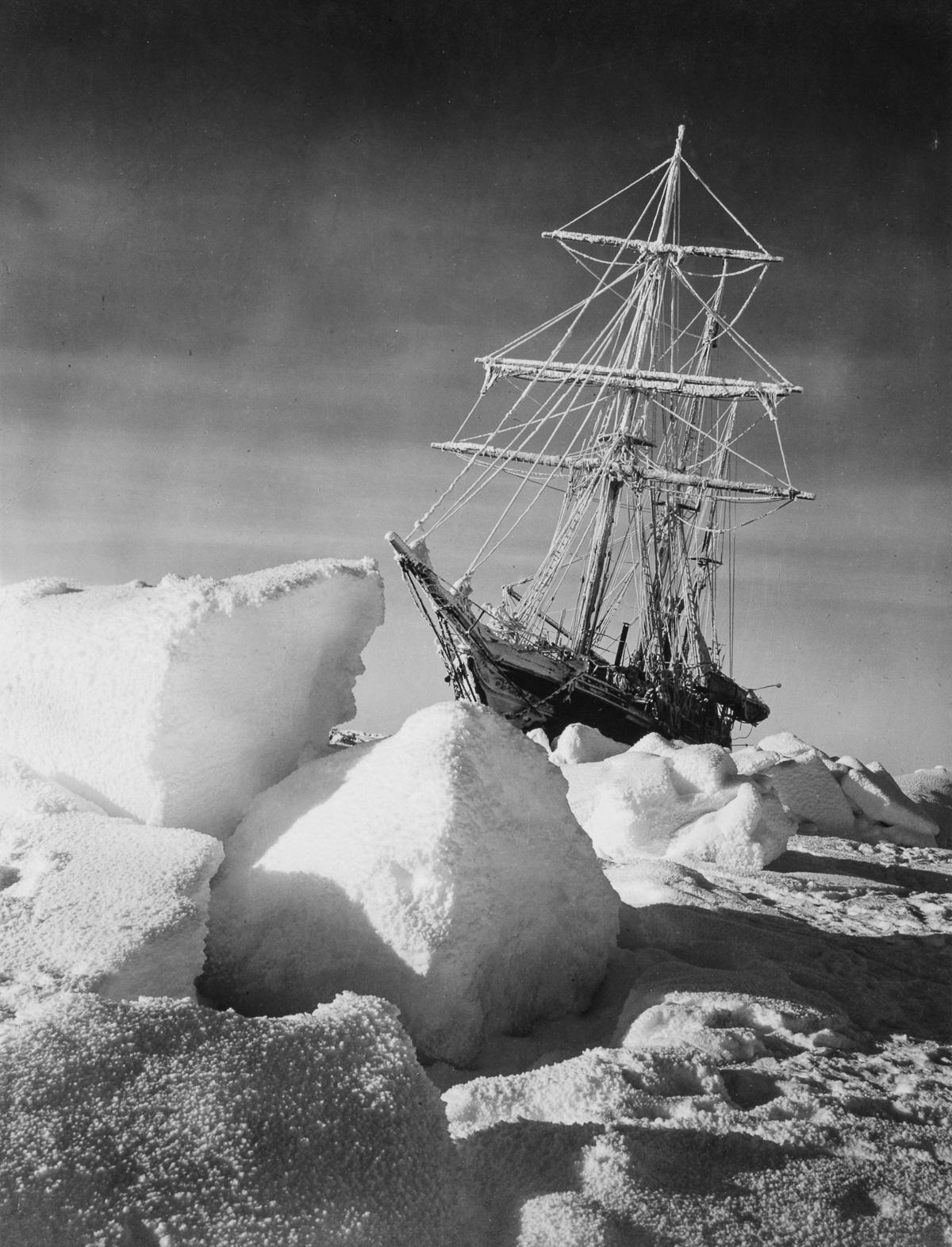 Fotografii Imperskoy transantarkticheskoy ekspeditsiey 1