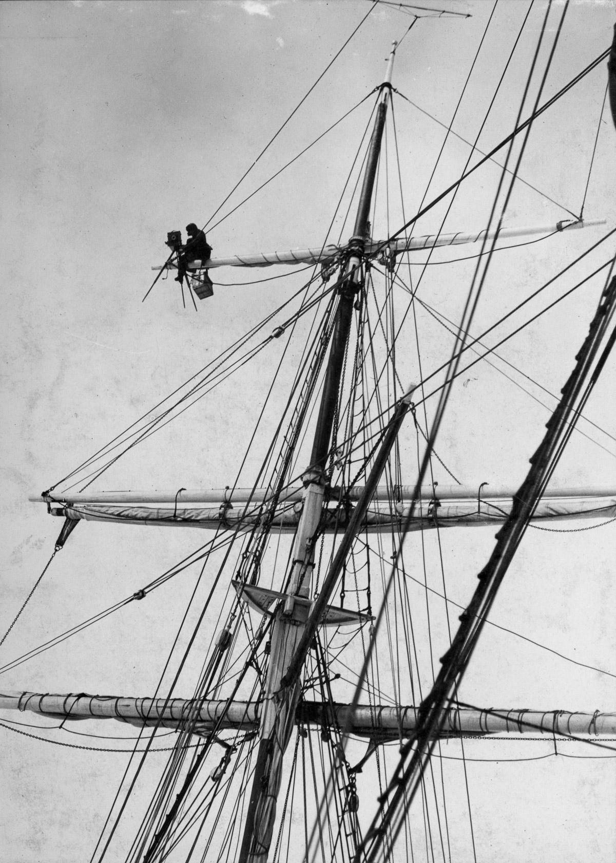Fotografii Imperskoy transantarkticheskoy ekspeditsiey 14