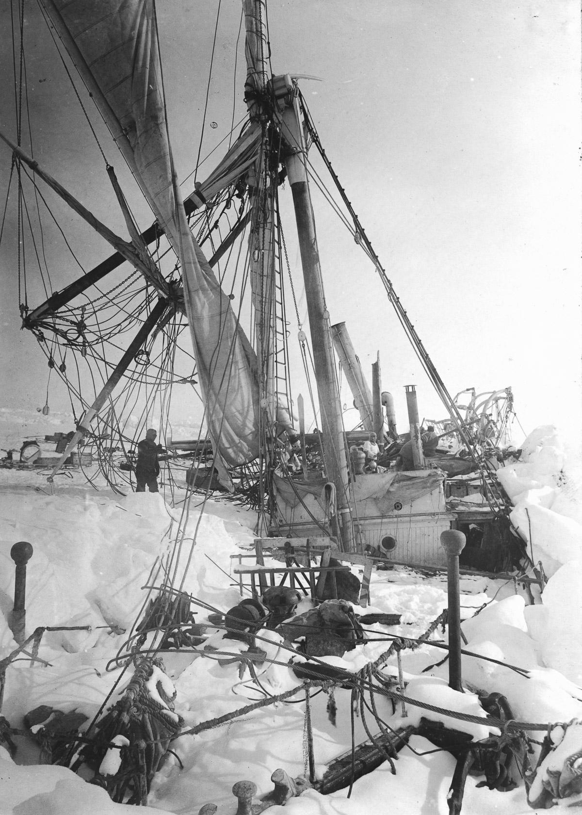 Fotografii Imperskoy transantarkticheskoy ekspeditsiey 41