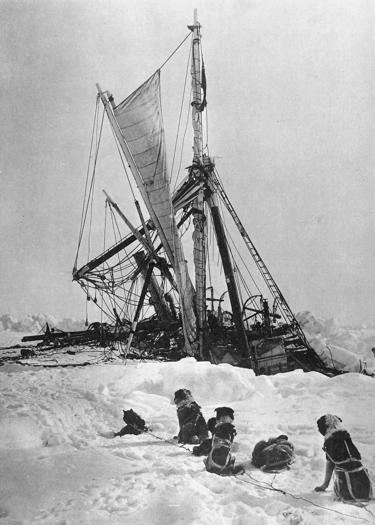Fotografii Imperskoy transantarkticheskoy ekspeditsiey 42