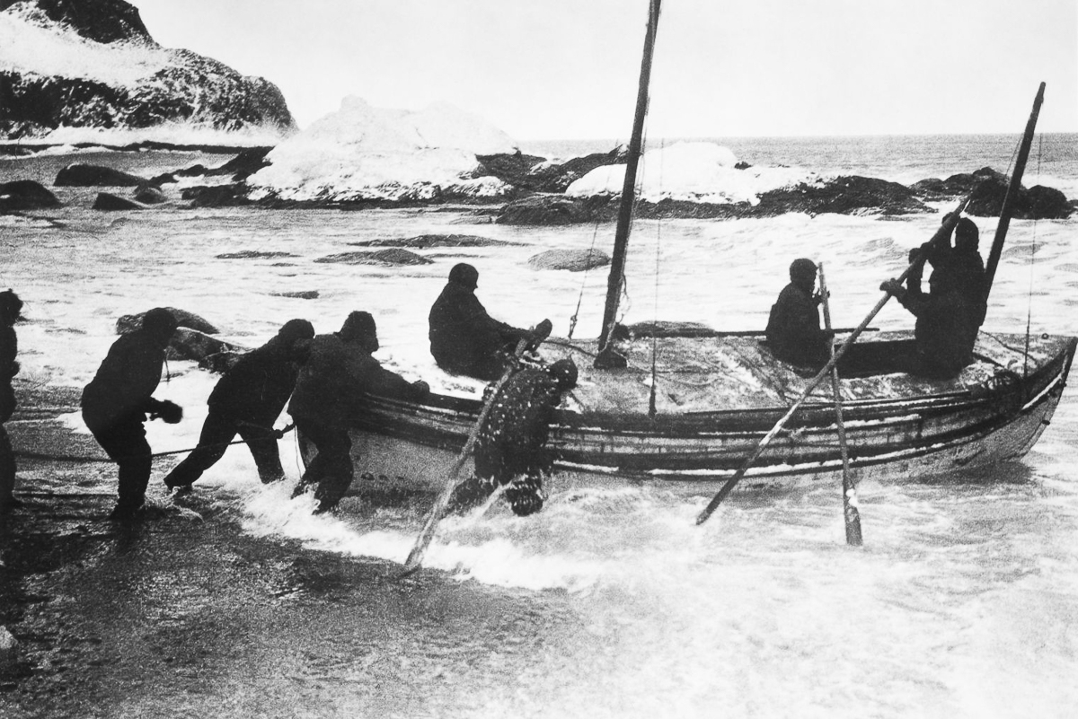 endurance shackleton During this time period,the endurance is pummeled by enormous ice floes on a consistent basis, and ultimately is damaged beyond repair and sinks in november 1915 shackleton and his twenty-seven crew members abandon the boat and establish a number of consecutive camps on various ice floes, moving their tents, sledge dogs and food stores in the.