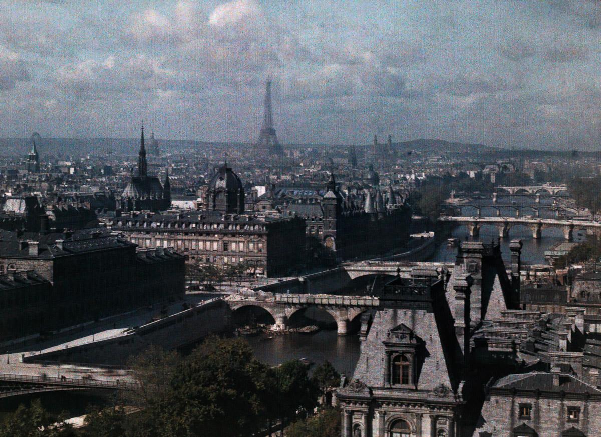Avtohromnye fotografii Parizha 1