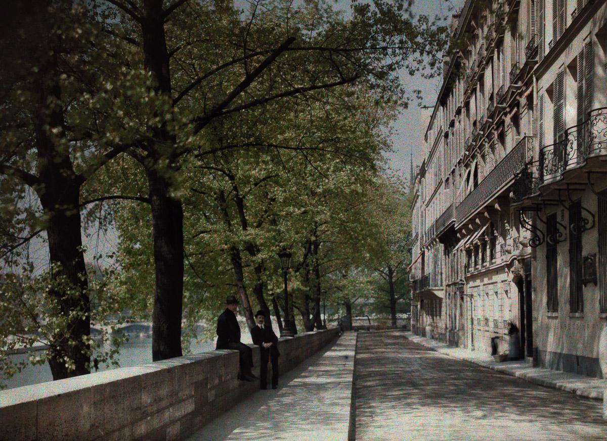 Avtohromnye fotografii Parizha 10