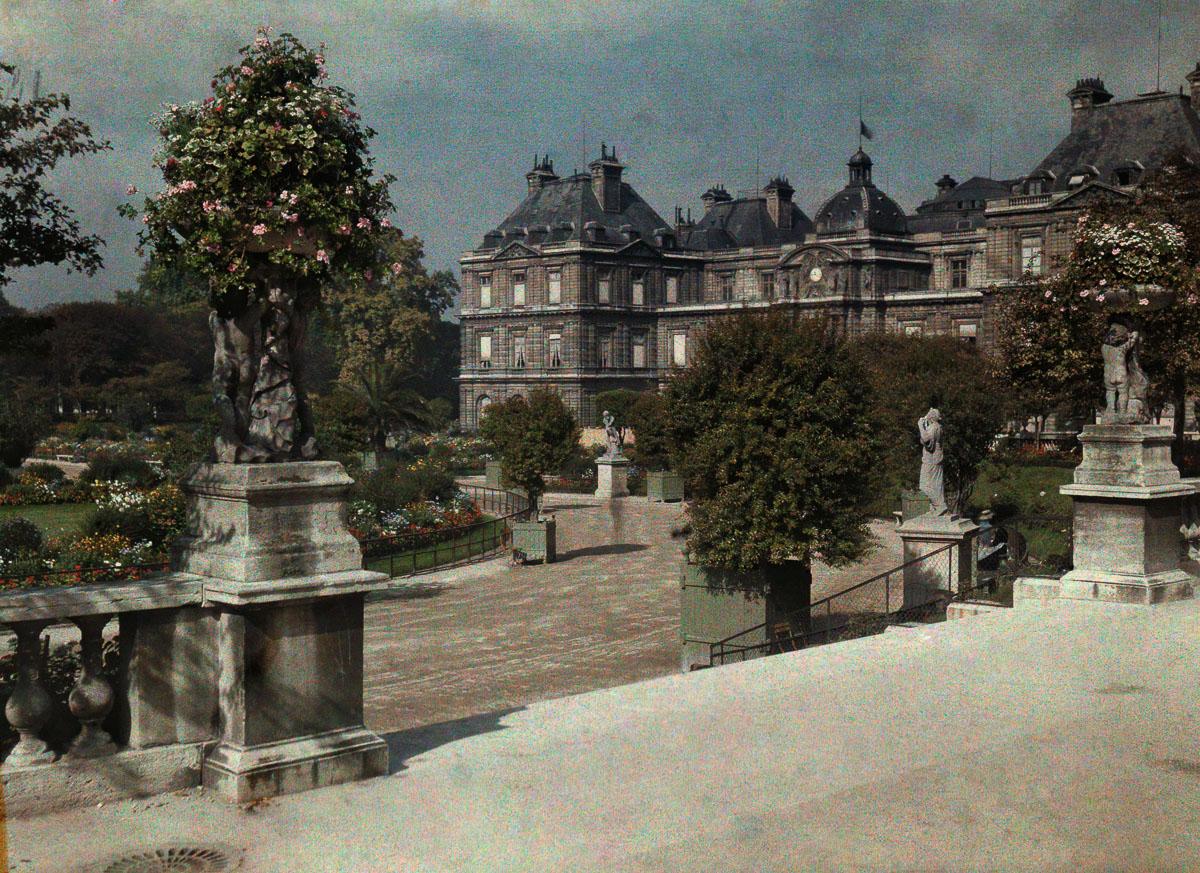 Avtohromnye fotografii Parizha 12