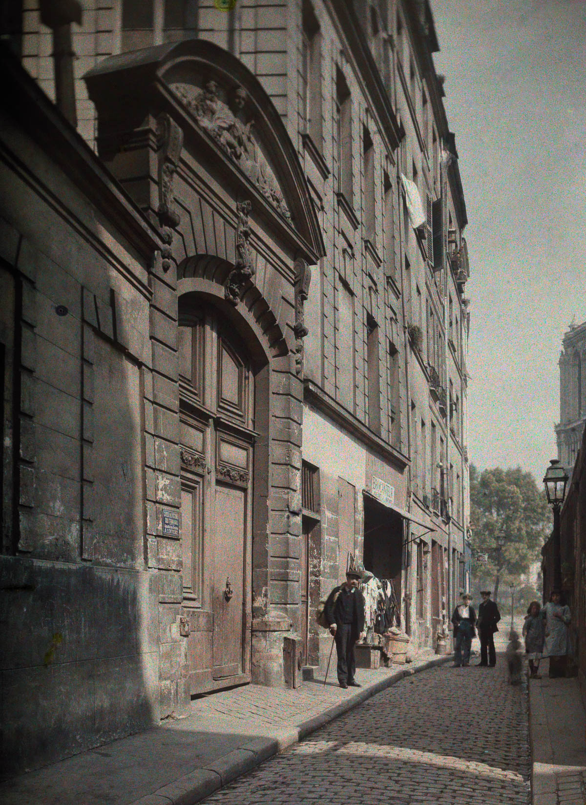 Avtohromnye fotografii Parizha 20