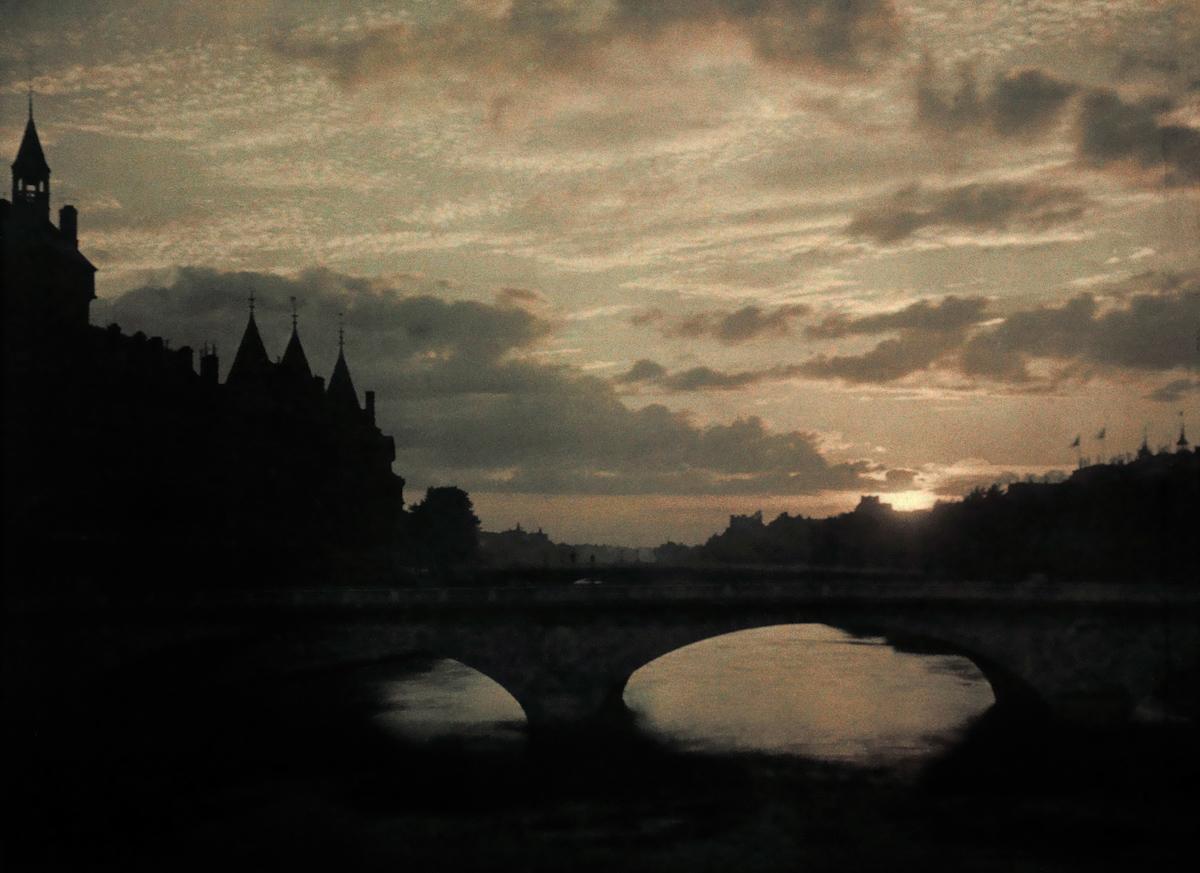 Avtohromnye fotografii Parizha 31