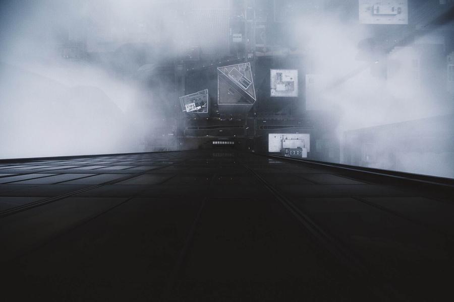 Драматические городские пейзажи Майкла Солсбери