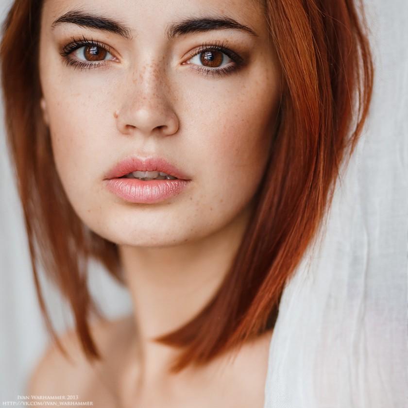 Красивые портретные фотографии Ивана Вархаммера