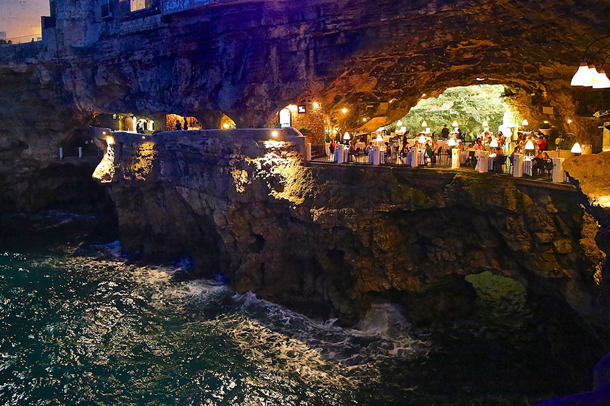 Гротта Палаццезе – один из самых живописных ресторанов Италии-18