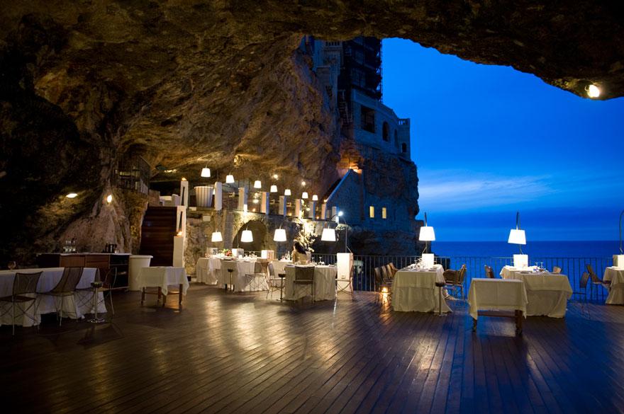 Гротта Палаццезе – один из самых живописных ресторанов Италии-21