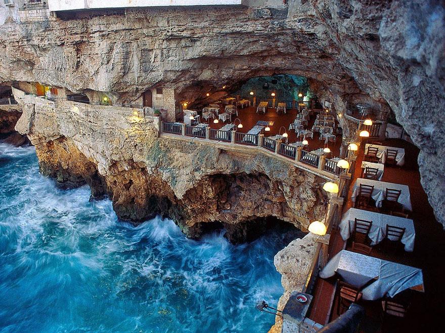 Гротта Палаццезе – один из самых живописных ресторанов Италии-31