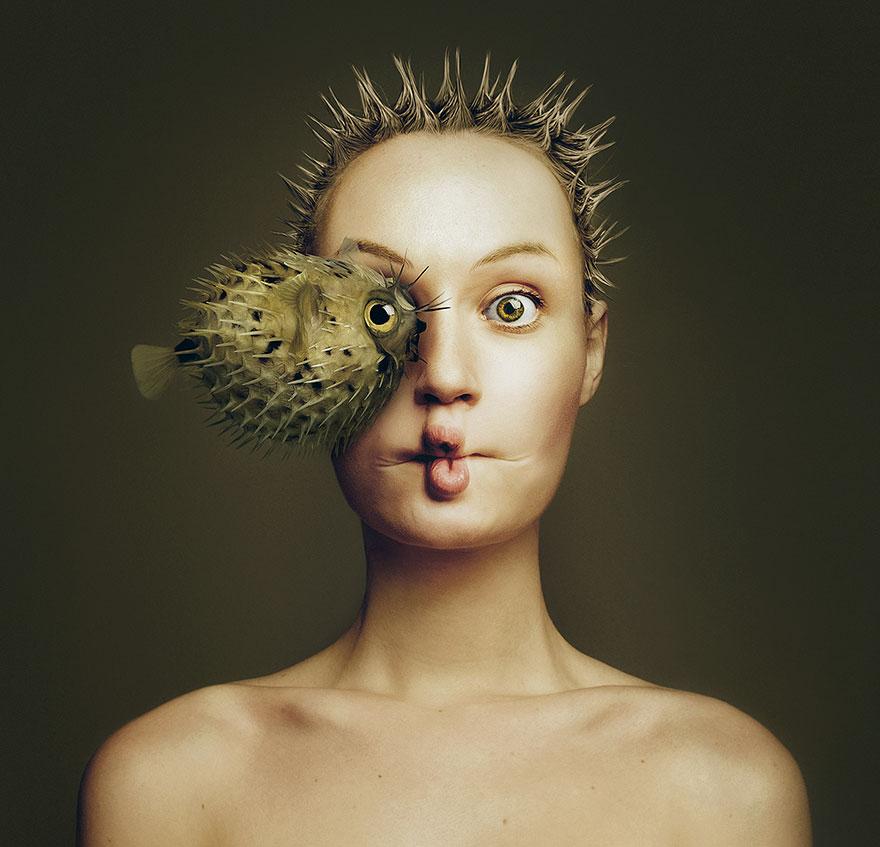 Animeyed – зрелищный проект венгерского фотографа Флоры Борси-2