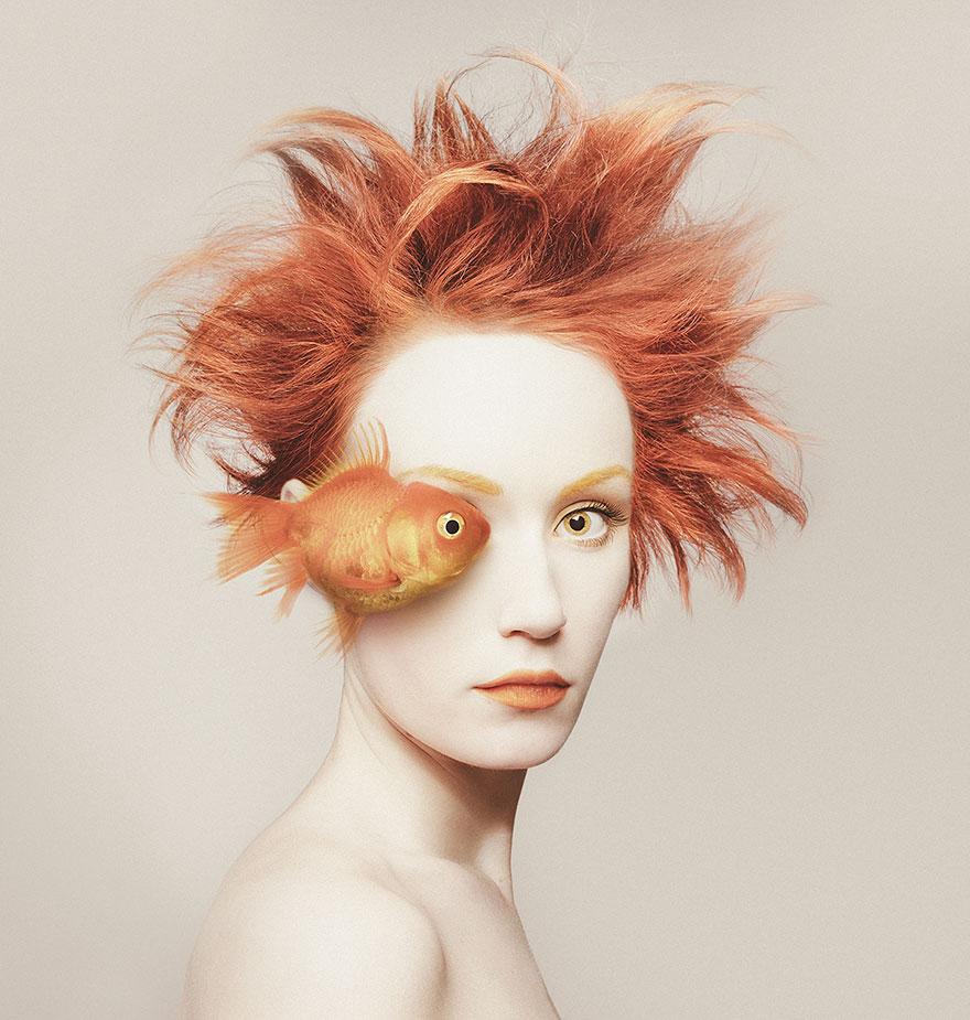 Animeyed – зрелищный проект венгерского фотографа Флоры Борси-3