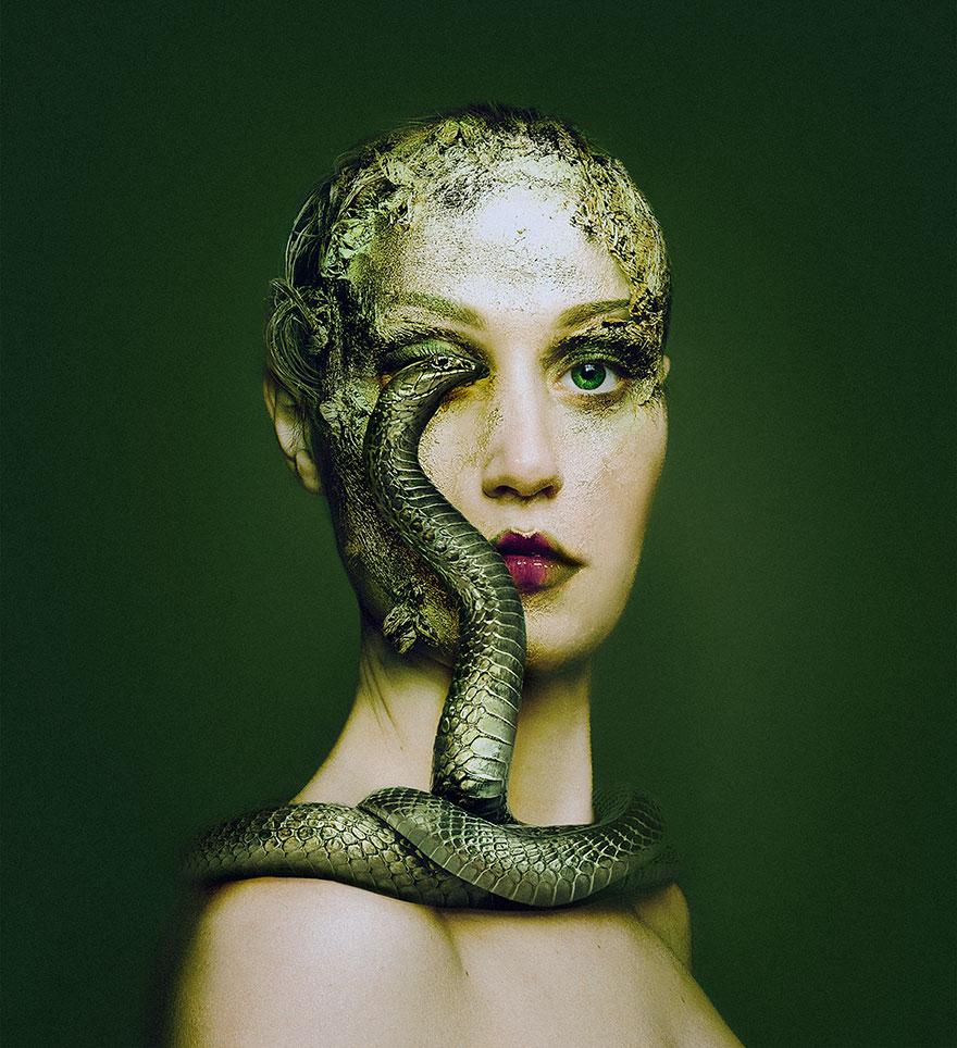Animeyed – зрелищный проект венгерского фотографа Флоры Борси-4