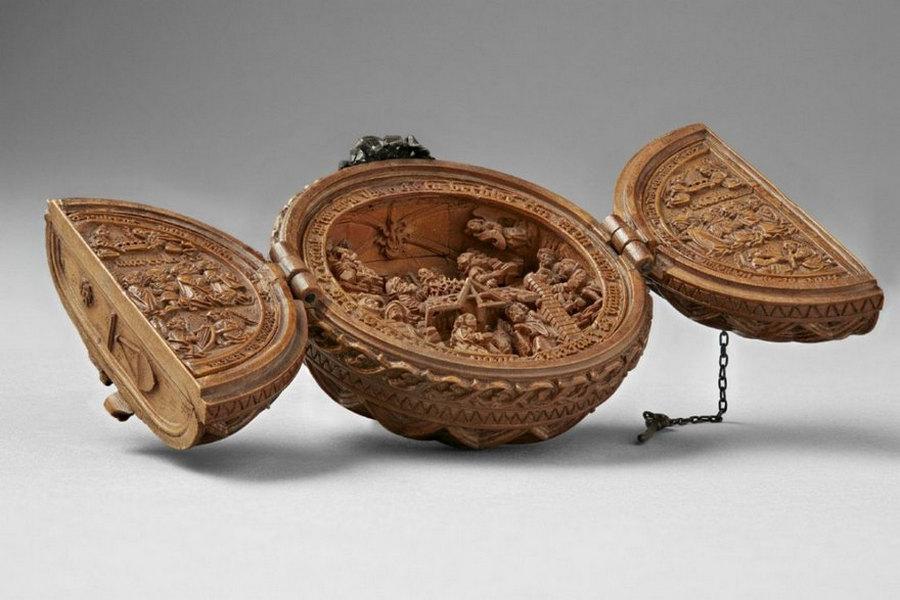 Что блоху подковать: самшитовые фигурки 16-го века 1