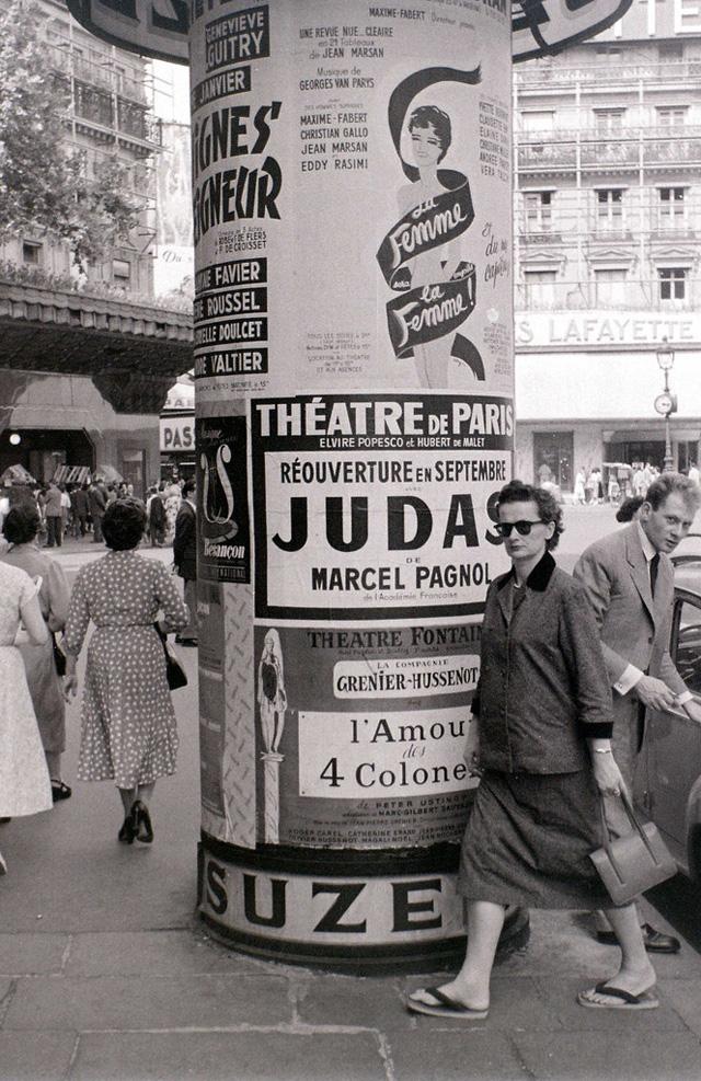 На экскурсию в Париж: столица Франции в объективе фотографа-любителя в 1955 году 10