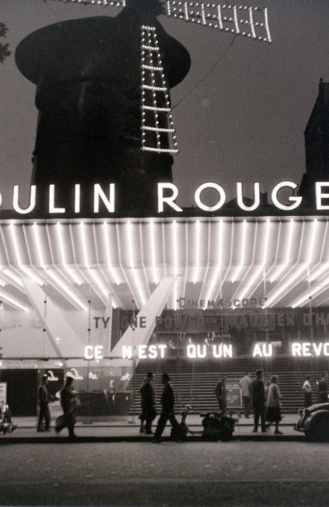 На экскурсию в Париж: столица Франции в объективе фотографа-любителя в 1955 году 18