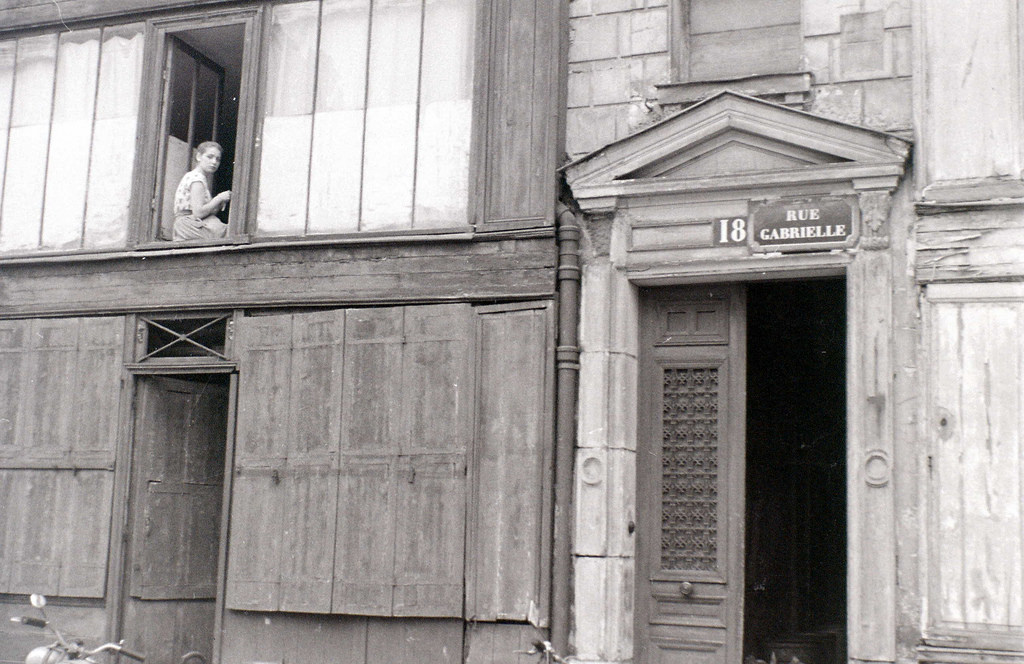 На экскурсию в Париж: столица Франции в объективе фотографа-любителя в 1955 году 24