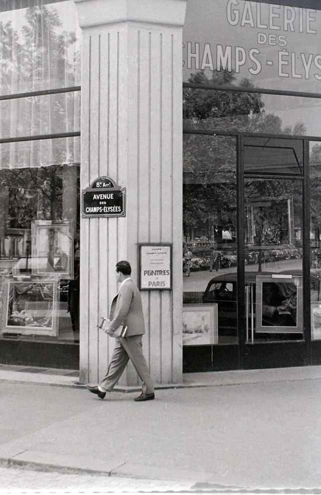 На экскурсию в Париж: столица Франции в объективе фотографа-любителя в 1955 году 40