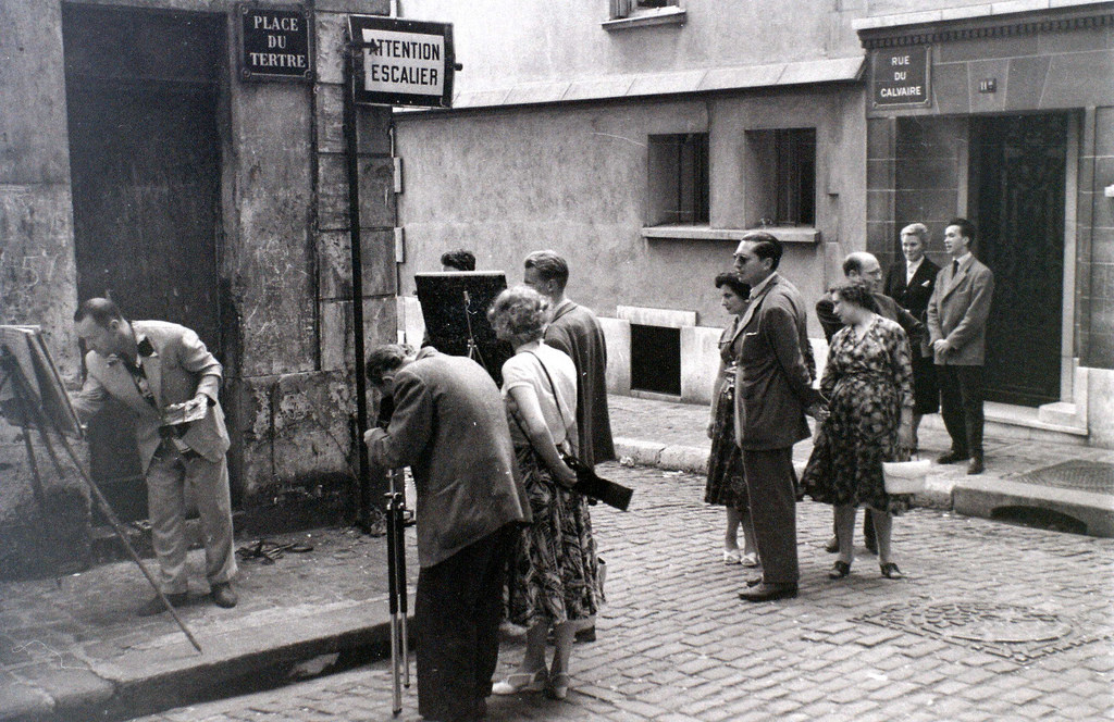На экскурсию в Париж: столица Франции в объективе фотографа-любителя в 1955 году 51