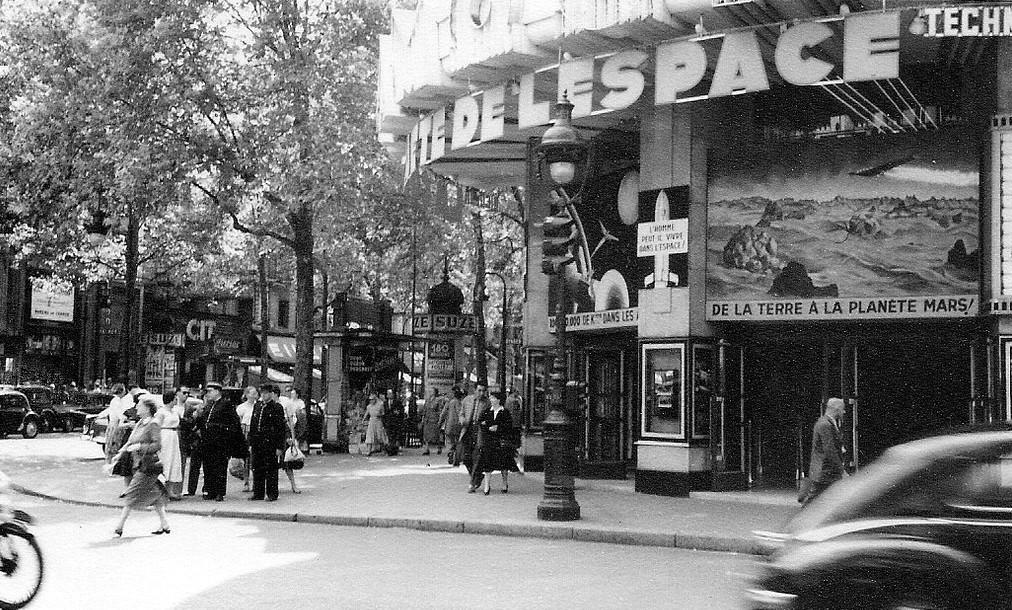 На экскурсию в Париж: столица Франции в объективе фотографа-любителя в 1955 году 56