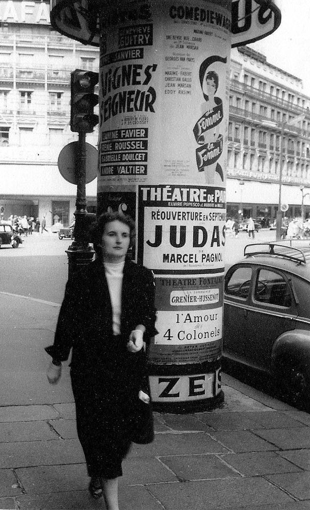 На экскурсию в Париж: столица Франции в объективе фотографа-любителя в 1955 году 6