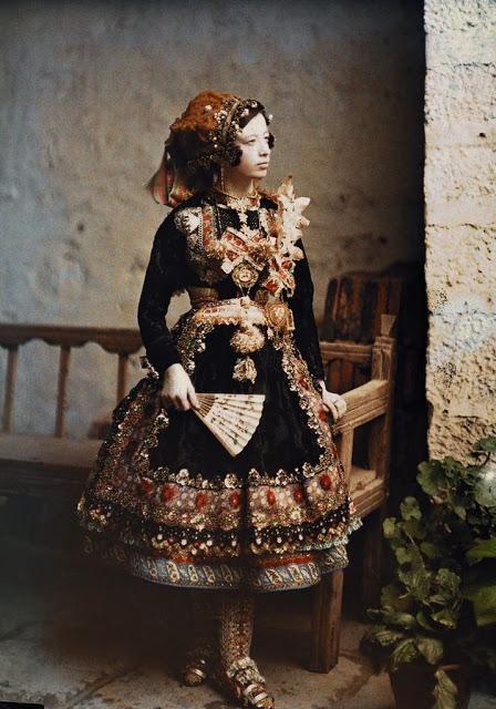 avtohromnye fotografii ispanskih zhenschin 6