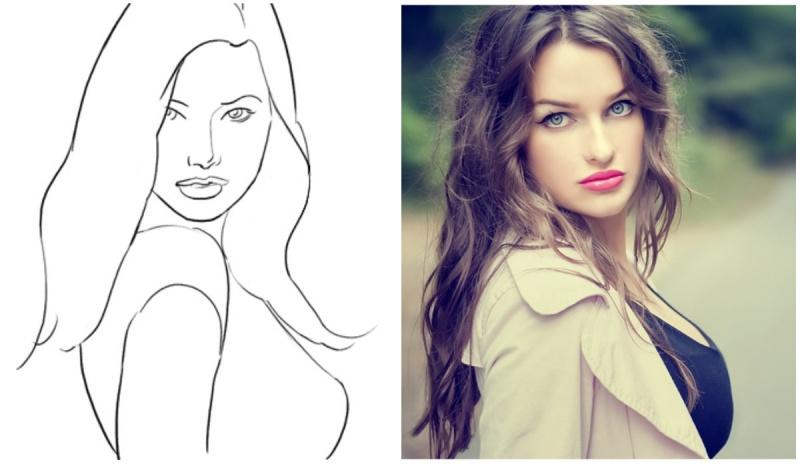 Красивые девушки принимают красивые позы