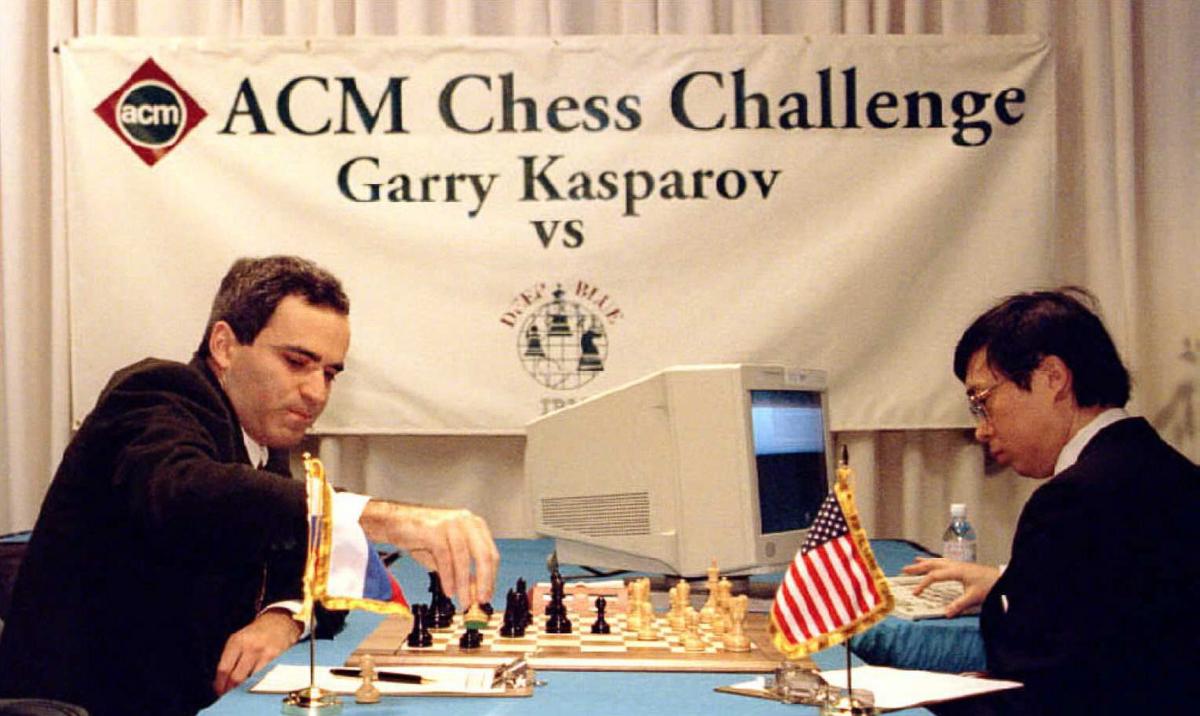 Shahmatnye matchi Kasparov Deep Blue 1