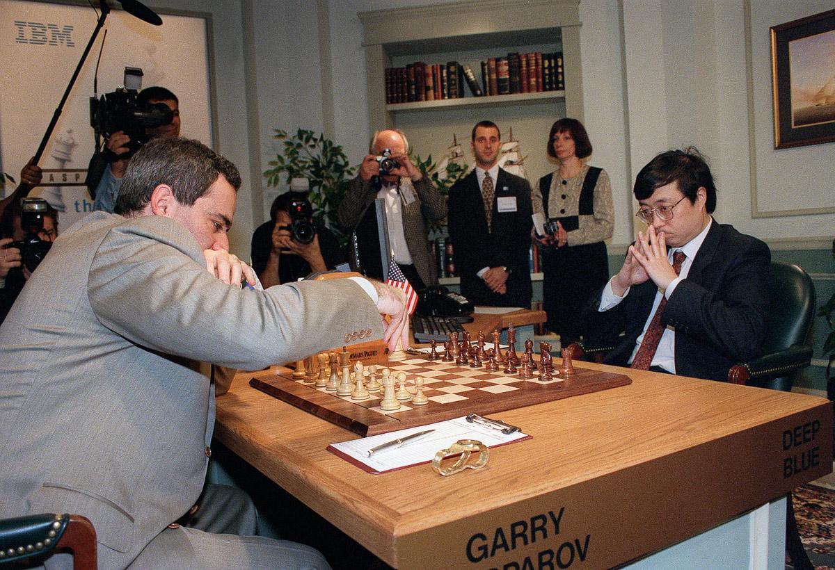 Shahmatnye matchi Kasparov Deep Blue 10