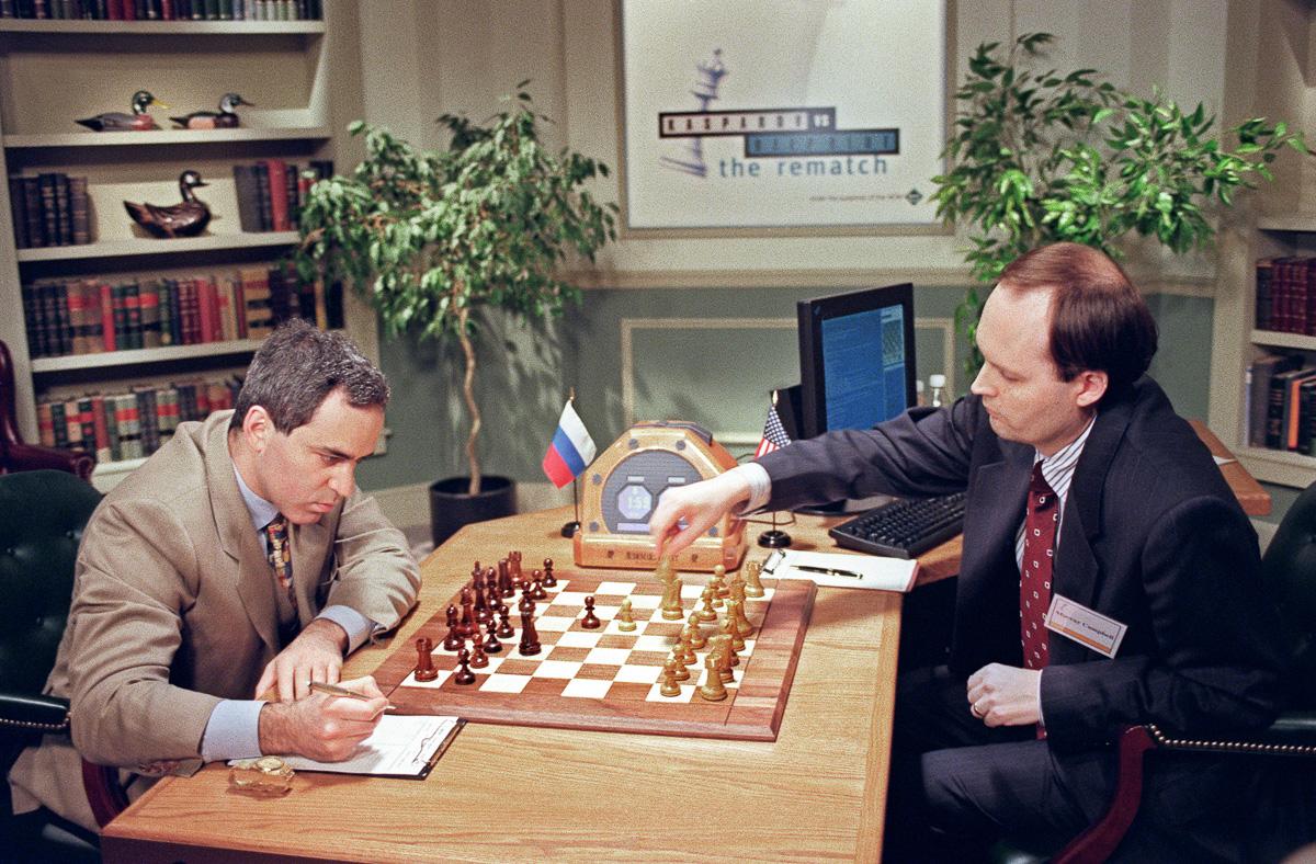 Shahmatnye matchi Kasparov Deep Blue 12