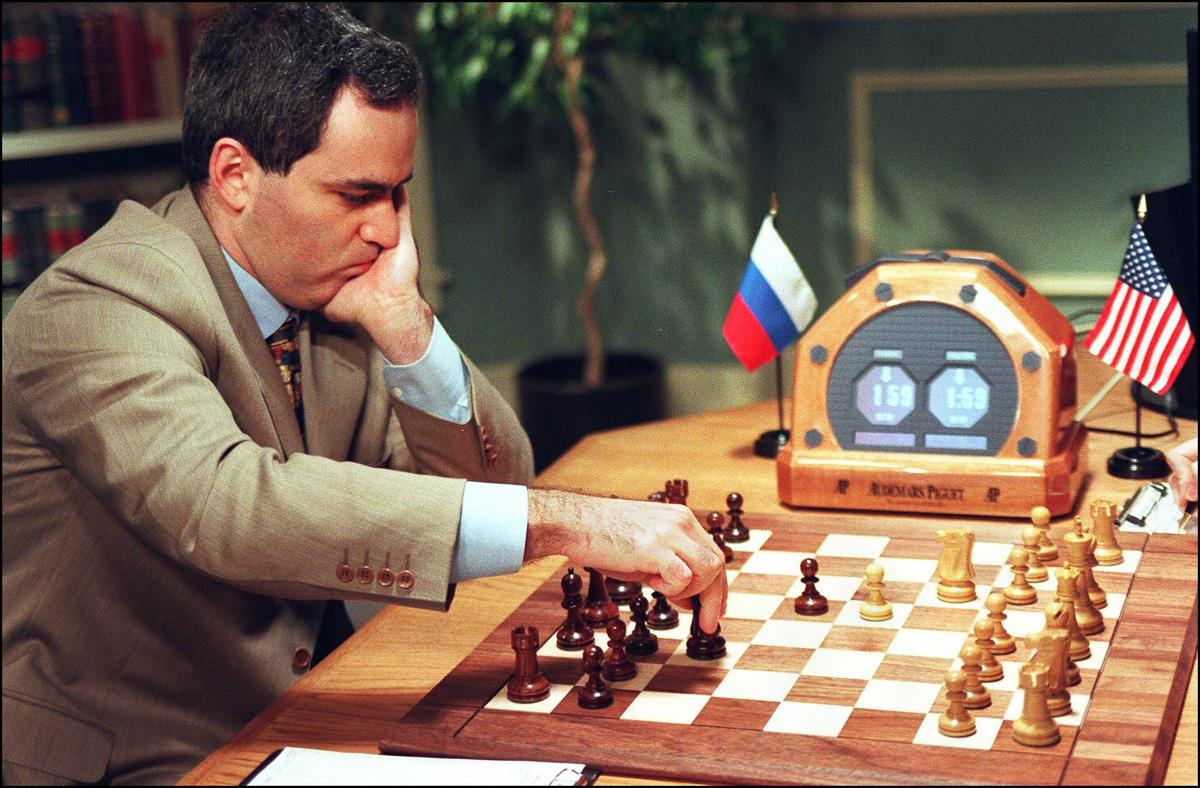 Shahmatnye matchi Kasparov Deep Blue 13