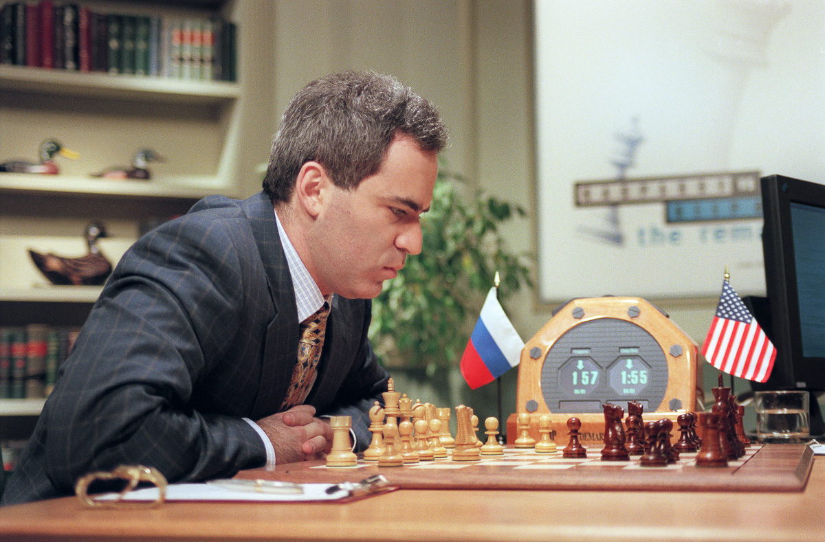 Shahmatnye matchi Kasparov Deep Blue 14