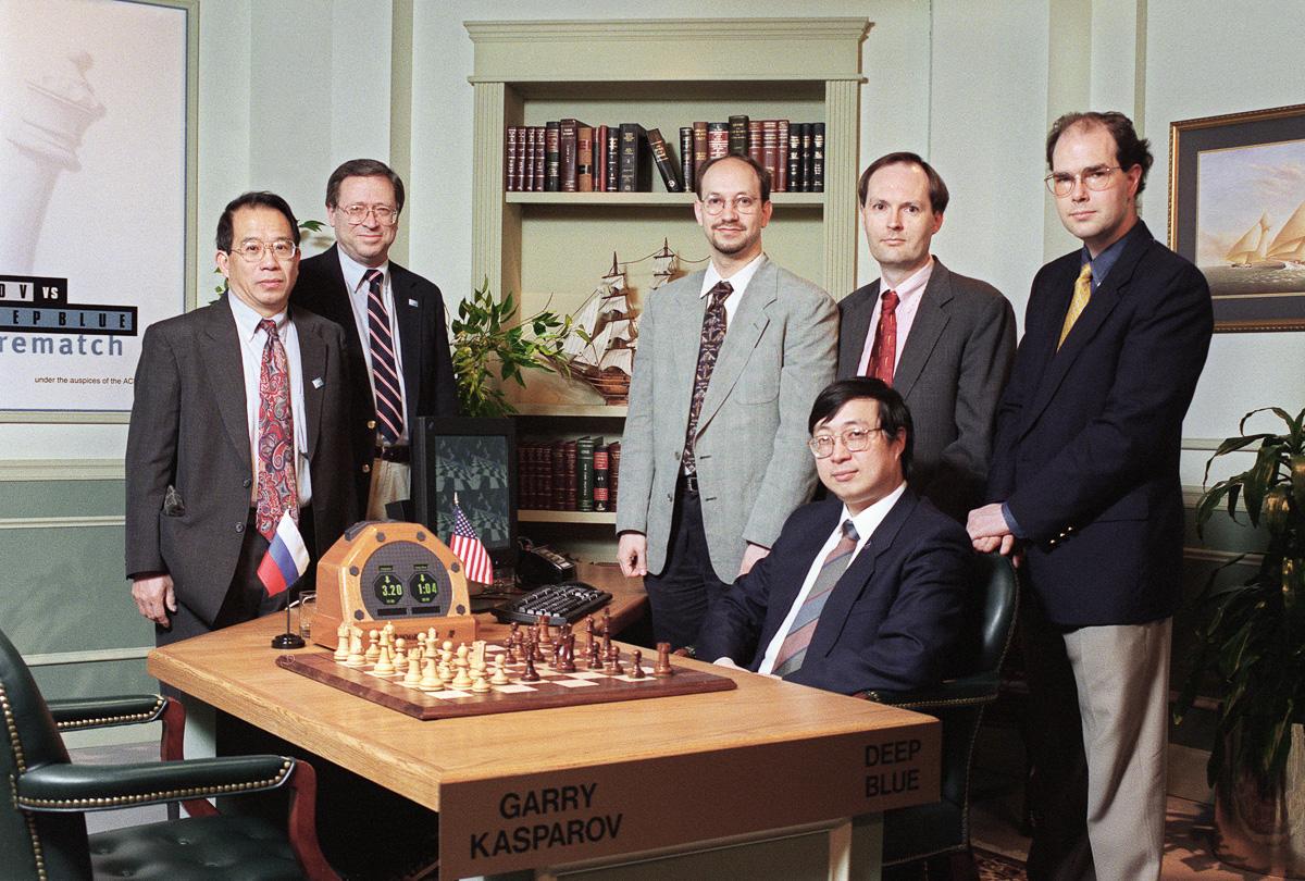 Shahmatnye matchi Kasparov Deep Blue 16