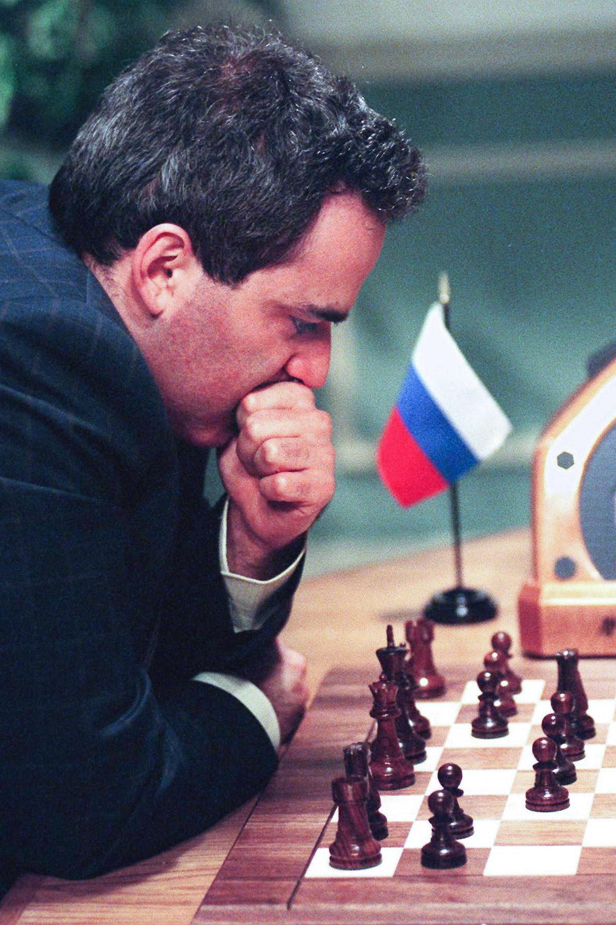 Shahmatnye matchi Kasparov Deep Blue 17