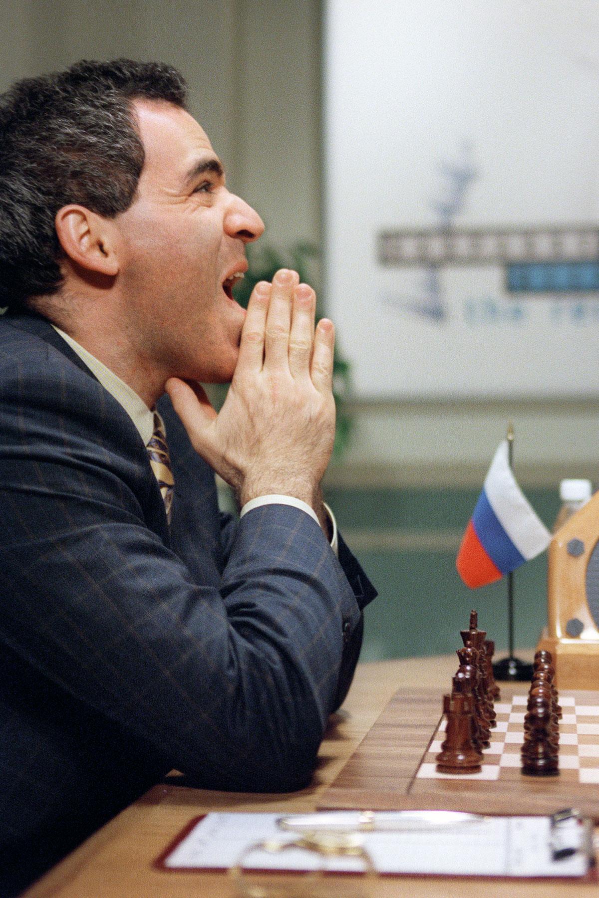 Shahmatnye matchi Kasparov Deep Blue 18